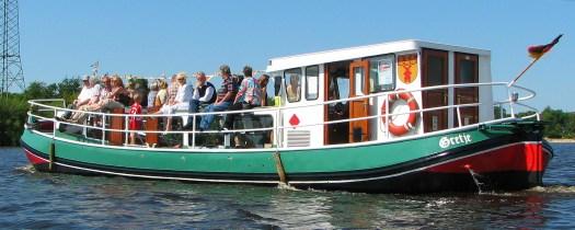 Das alte Torfschiff Gretje