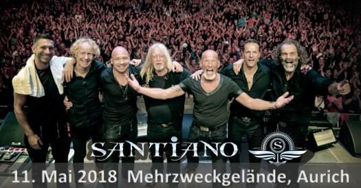Santiano - Live und Open Air in Aurich 2018