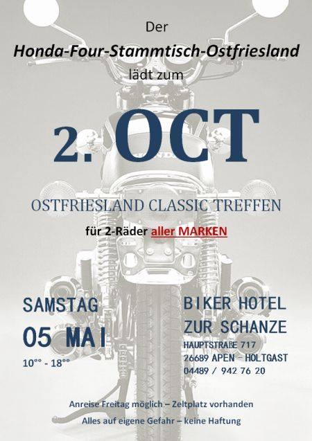 2. Ostfriesland Classic Treffen für Biker