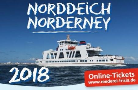 Norddeich Norderney Tickets