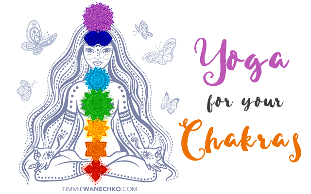 Yoga for Your Chakras: Create Your Own Chakra Yoga Practice by Timmie Wanechko