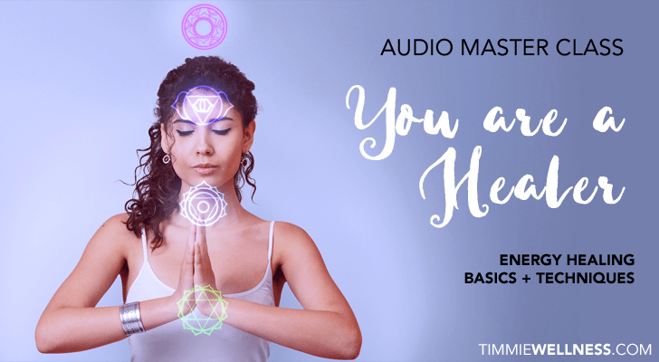 You Are a Healer Audio Masterclass by Timmie Wanechko Policarpio Horvath Edmonton Reiki Training Crystal Healing Aromatherapy Essential Oils