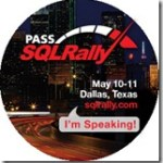 SQL Rally–1 week out