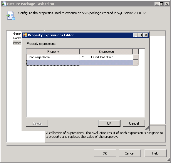 SSIS Parent-Child Architecture in Package Deployment Mode