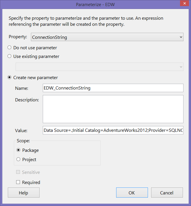 A Shortcut for Parameterizing Settings in SSIS - Tim Mitchell