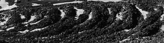 Boulder waves below Dri Horlini