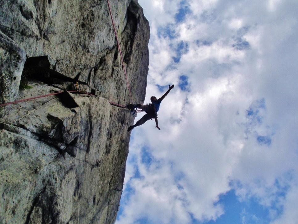 RAC crag crack climbing or A1