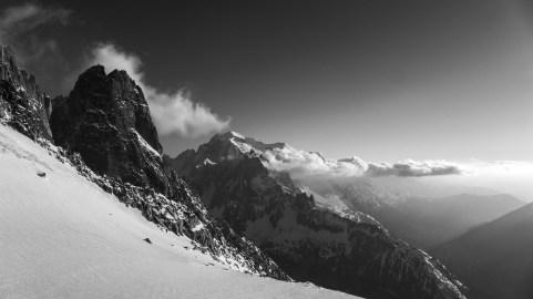 Drus to Mt Blanc