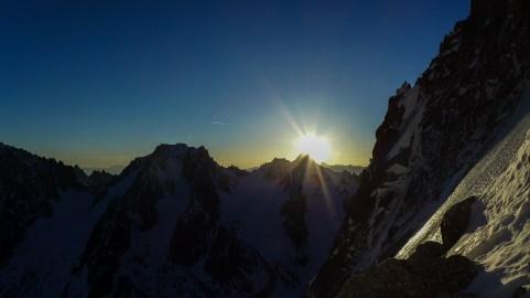 Sunrise over Tour Noir