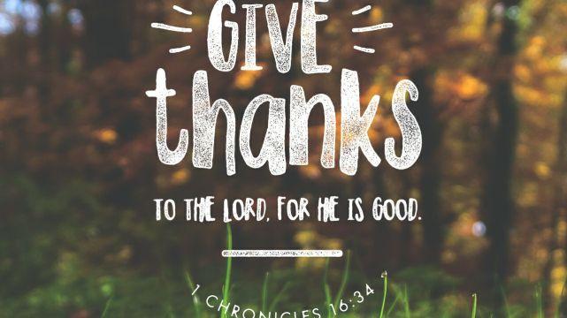Giving Thanks Even Through The Tough Times