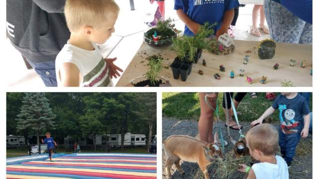 Full Day of Camping Activities at Hungry Horse Campground