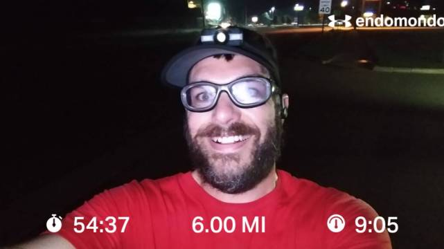 Early Tuesday Morning Training Run For Clean Water