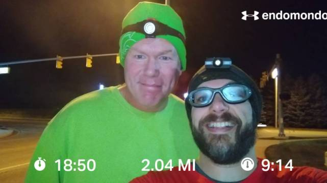 Finishing The 2018 Grand Rapids Marathon Training
