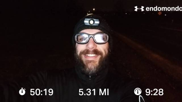 Embracing The Winter Run