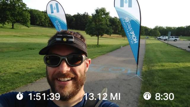 Knocking Out An Early Morning Half Marathon