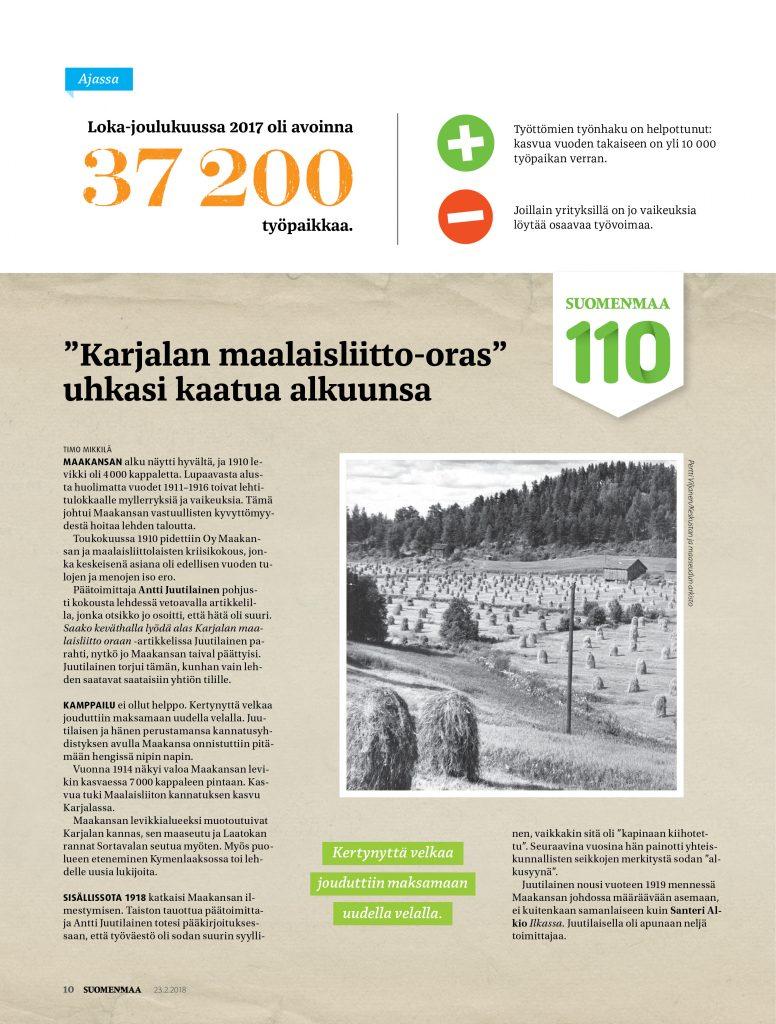 Suomenmaa, maakansa