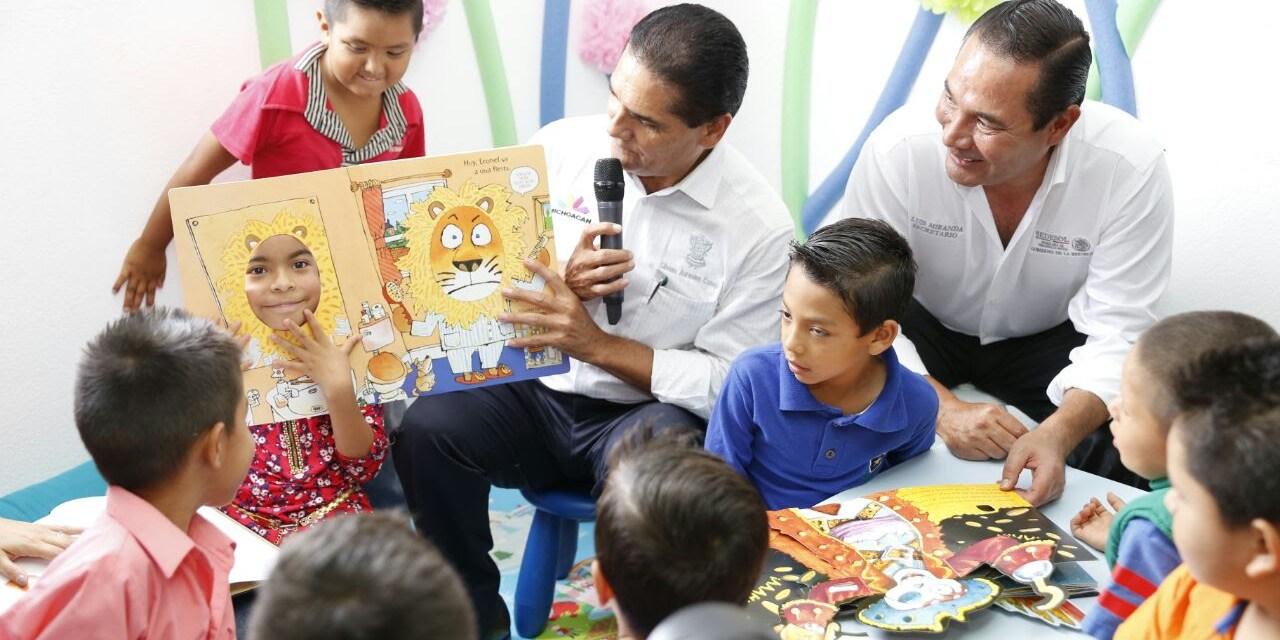 Educación, clave para reconstruir el tejido social: Gobernador