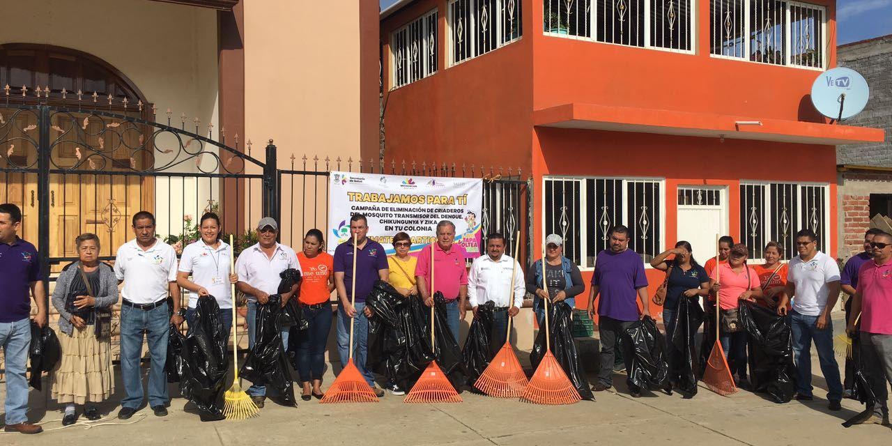 Arranca Autoridad de Salud el Plan Integral de Pro de una Comunidad Sana en Arteaga