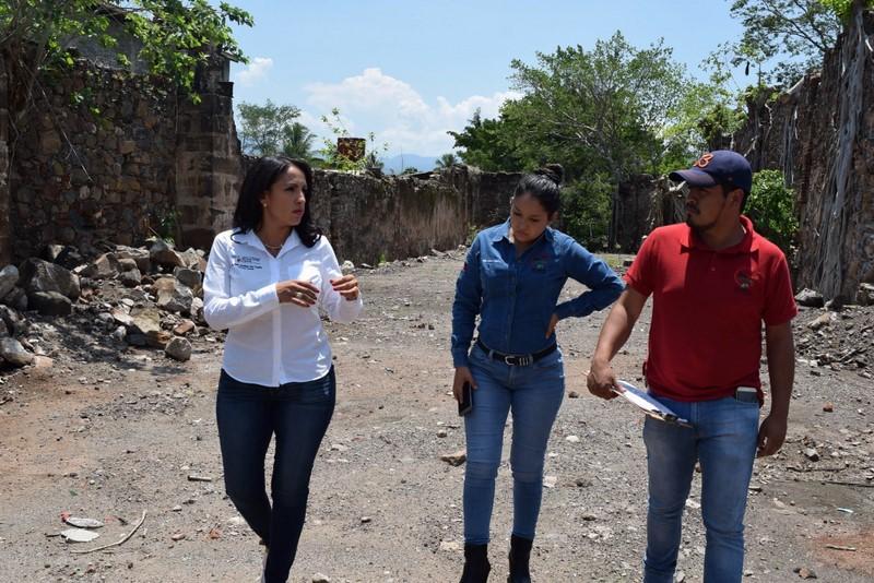 Atiende IIFEEM infraestructura educativa en Nuevo Urecho
