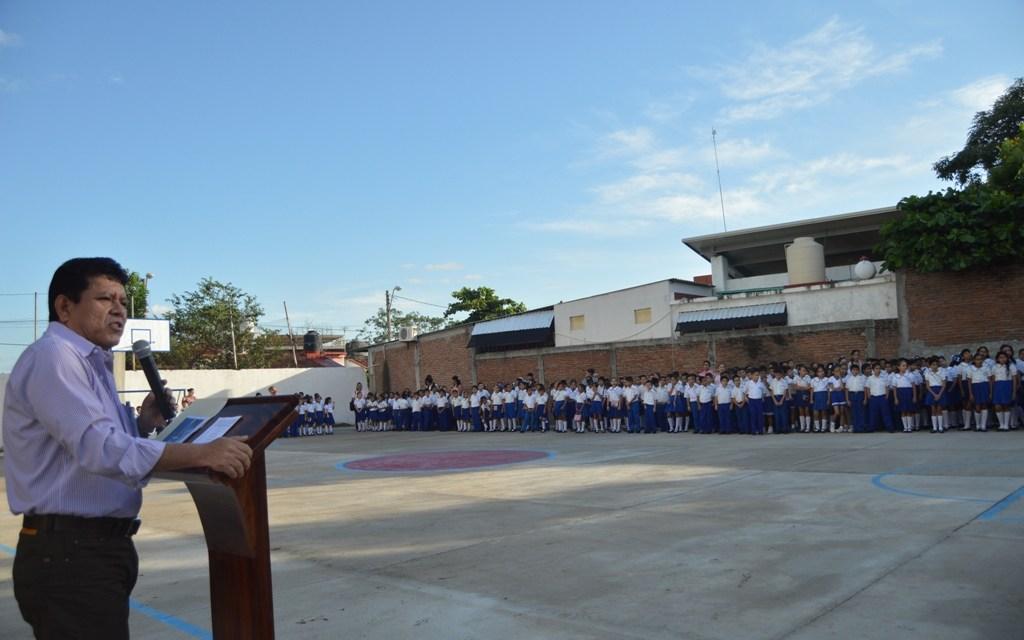 Inauguran el lunes Ciclo Escolar 2017-2018