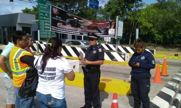 Casi tres años de lucha por los 43 normalistas CNTE toma casetas en Michoacán