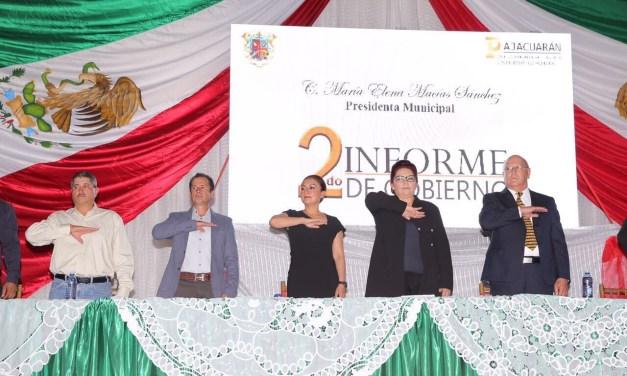 Gobierno del Estado apoya a Pajacuarán con 29 obras y acciones por casi 15 mdp