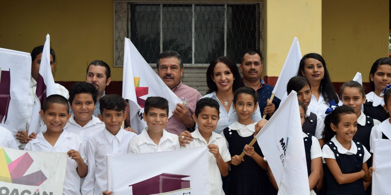 Inicia IIFEEM dignificación de Primaria en Gabriel Zamora