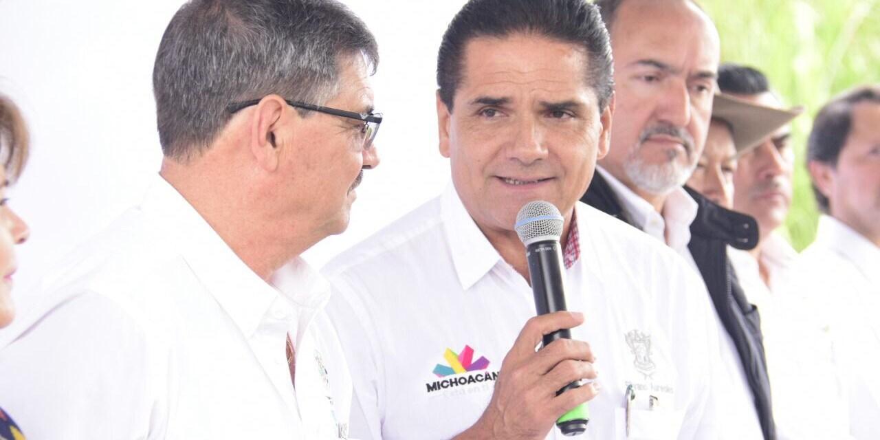 Silvano Aureoles inaugura y arranca obras en beneficio de Peribán por más de 31 mdp