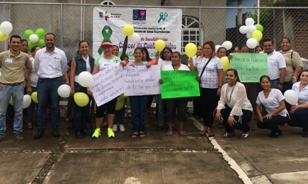 Arranca la 'Semana de sensibilización de cáncer en cuello uterino 2017' en Acalpican de Morelos