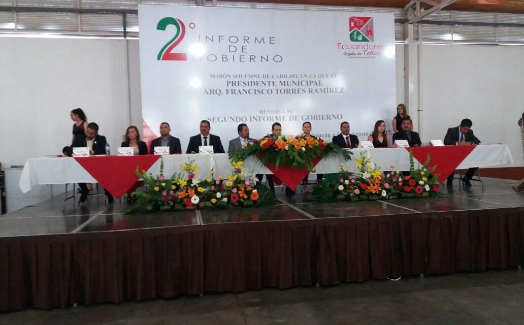 Más de 30 importantes obras realizadas este año en Ecuandureo