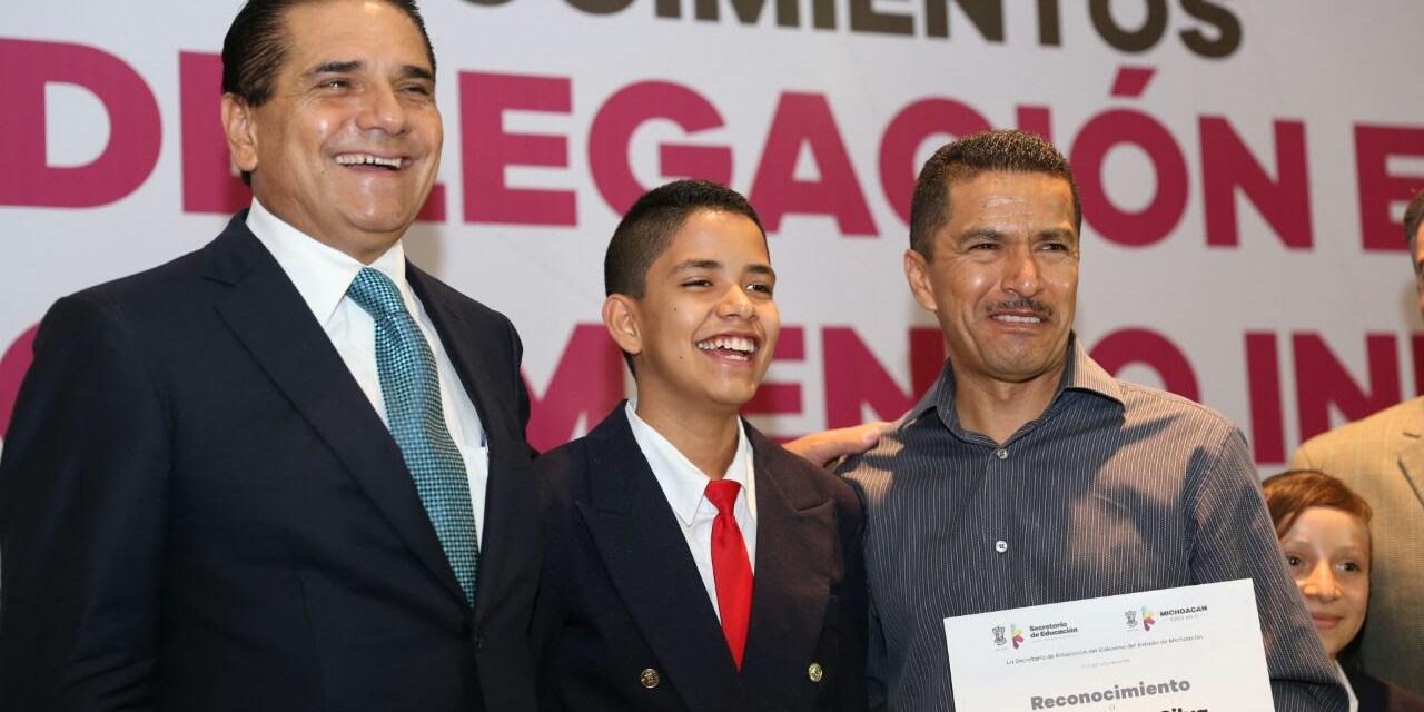 Avanza Michoacán en indicadores de educación básica Silvano Aureoles