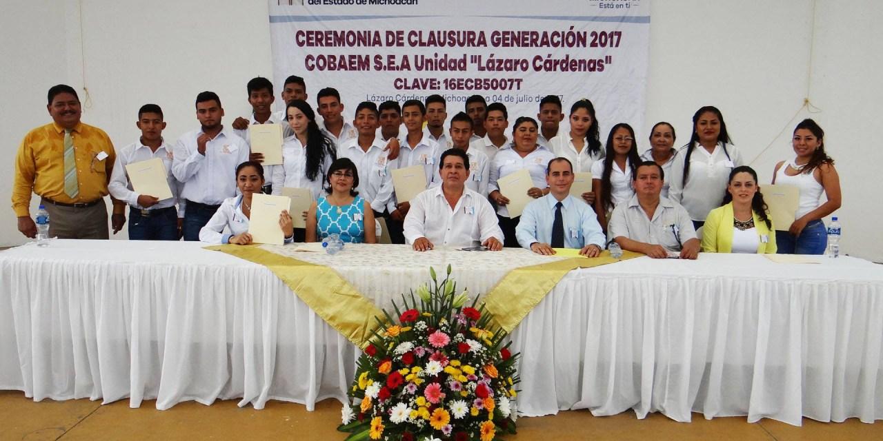 Reconocen labor del Cobaem para disminuir rezago educativo
