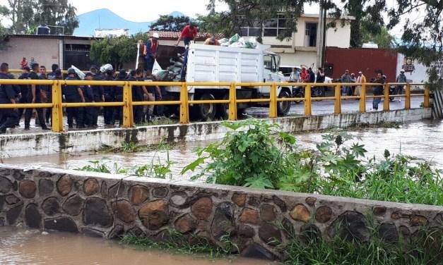 PC Estatal, atenta a eventos de riesgo por lluvias en Michoacán