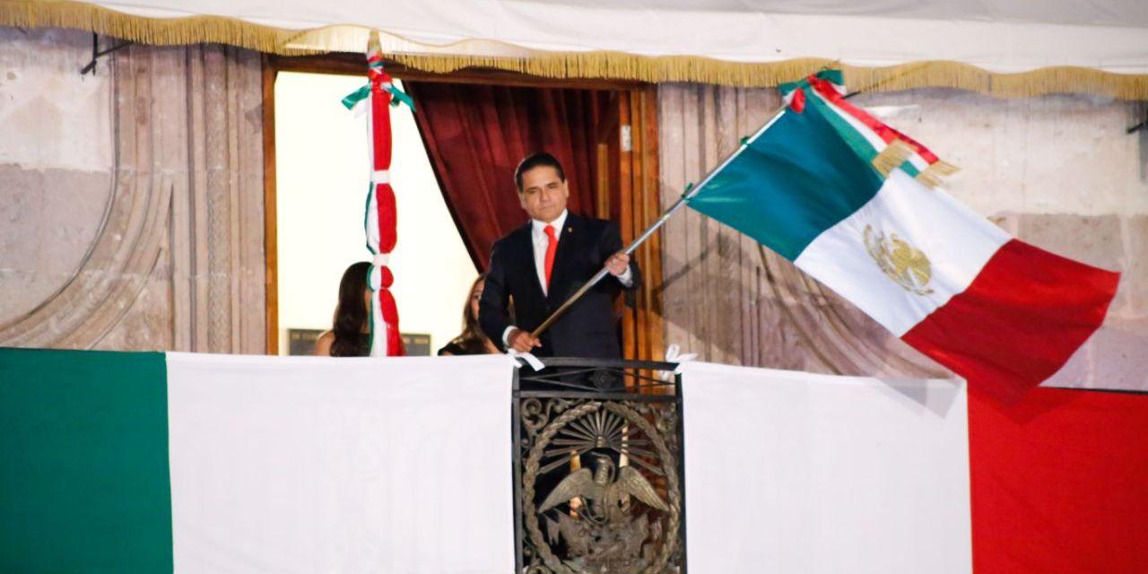 Encabeza Gobernador CCVII aniversario del inicio de la Independencia de México