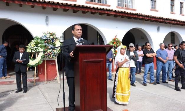 Llama Adrián López a no bajar la guardia ante sucesos que atentan contra la población michoacana