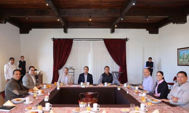 Refrenda Gobernador trabajo coordinado con organismos autónomos de Michoacán