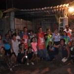 Red de Mujeres por la Paz recorren colonias de Las Guacamayas