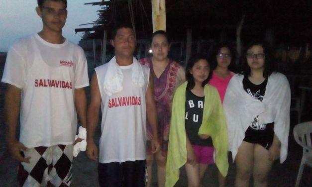 Salvavidas rescataron 78 personas durante el periodo vacacional