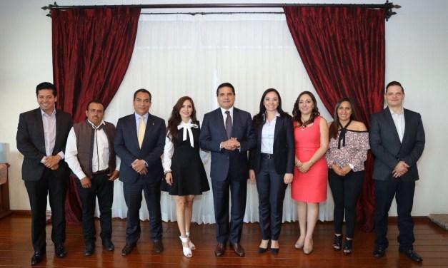 Continúa Gobernador construcción de agenda conjunta por Michoacán