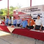 Celebra Cobaem 23 aniversario de su plantel Infiernillo