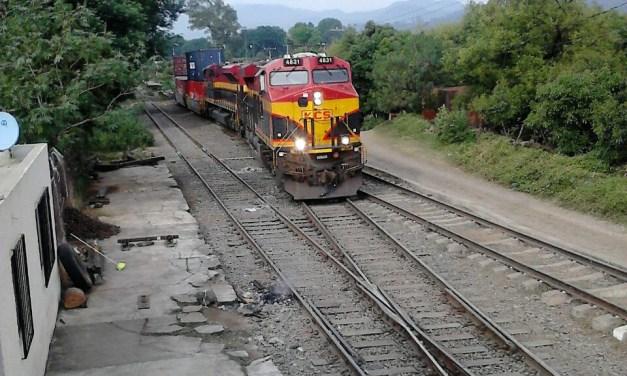 Libres, las vías férreas en Michoacán