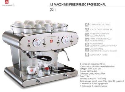 IPERESPRESSO Illy, ideale per consumi quotidiani fino a 100 caffè