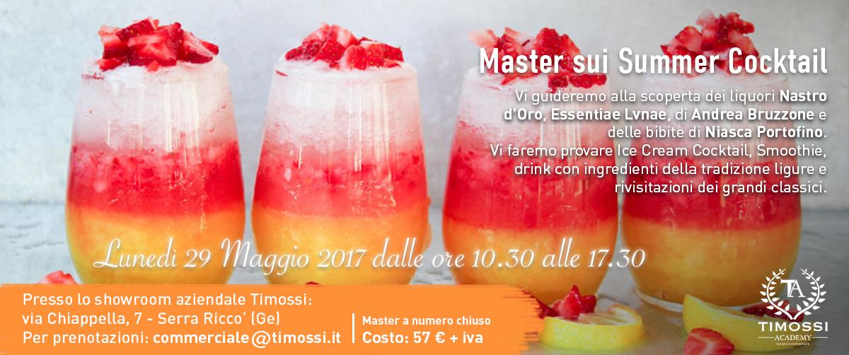 29 Maggio 2017 – Master sui Summer Cocktail