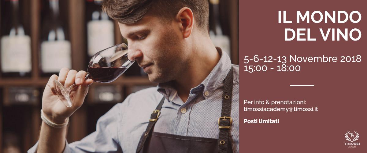 5/6/12/13 Nov 2018 – Il mondo del vino