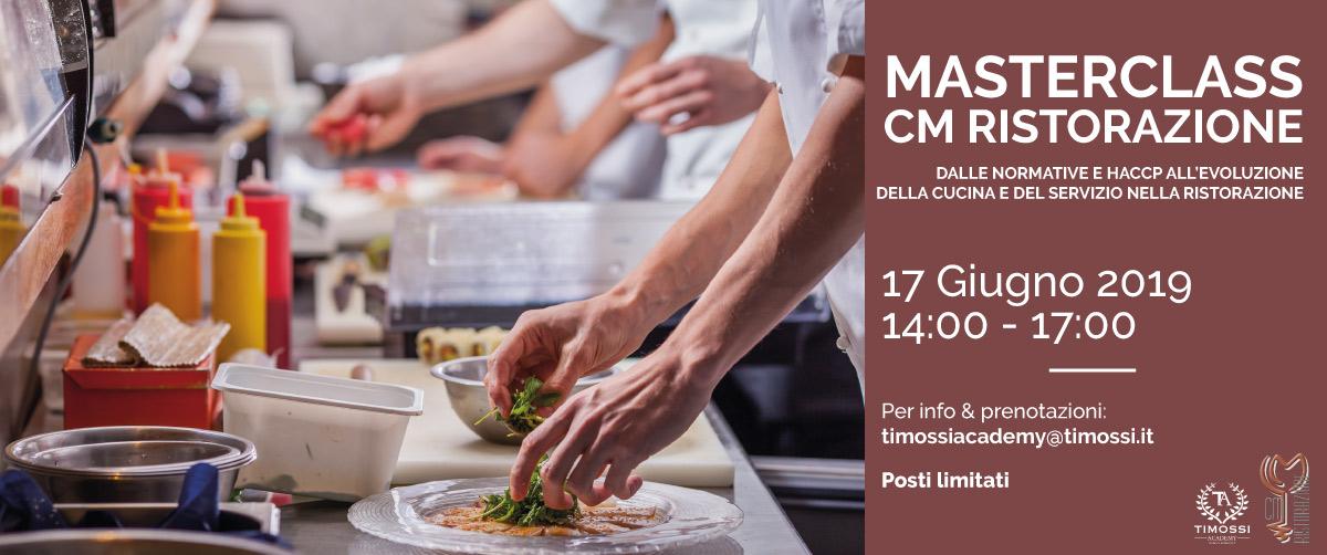 17 Giu 2019 – Masterclass CM Ristorazione
