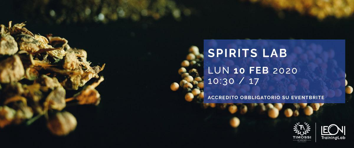 10 Feb 2020 – Spirits Lab
