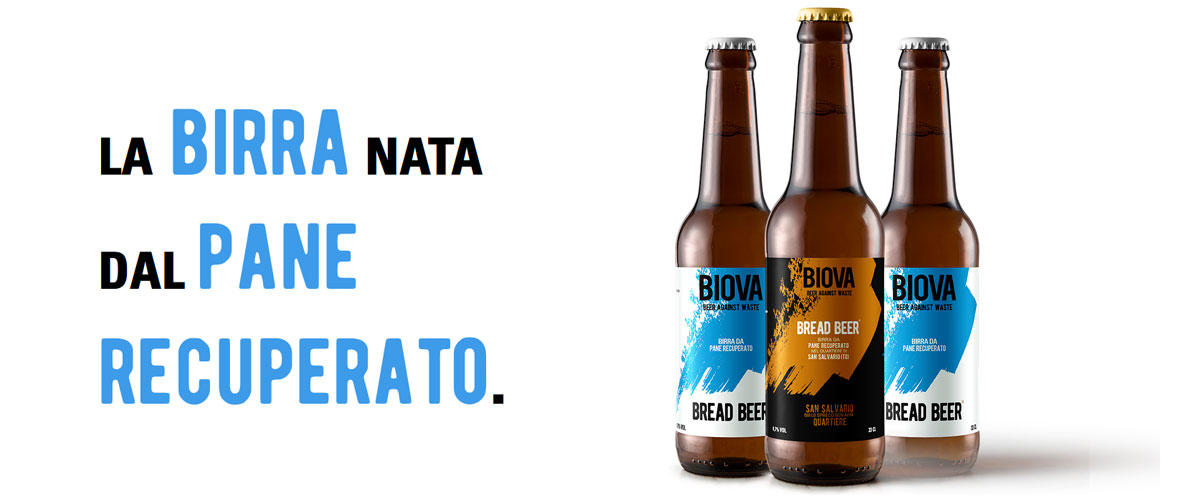 Biova Bread Beer: la birra nata dal pane recuperato