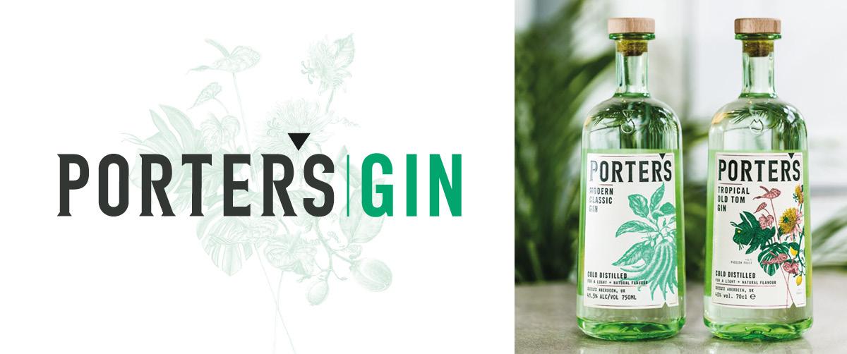 Porter's Gin: il Gin scozzese distillato a freddo con l'anima di ginepro