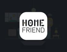 <strong>HOME FRIEND</strong> – Film en motion design pour l'app