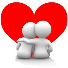 Love couple romantic heart